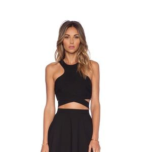 X Naven Twins Chromat Crossover Top by NBD